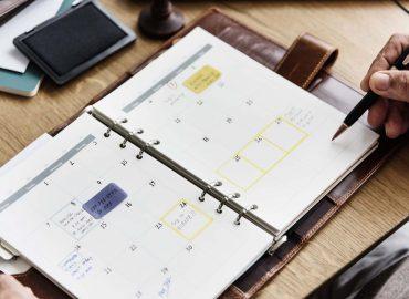 Organização da Agenda